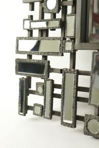 Paire De Miroirs, Art Moderne, 1980-1990