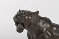 Tigre en bronze signé Joko époque Meiji