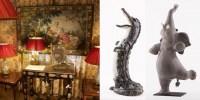 Jean-Luc FERRAND, antiquaire et décorateur présente VALERIE COURTET, artisan d'art céramiste