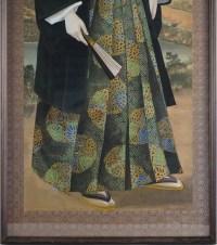 Portrait de Léon ROCHES (1809-1901) école japonaise fin 19e siècle