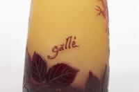 Emile Gallé Vase Panse Aplatie