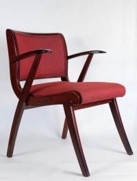 Paire de fauteuils années 50