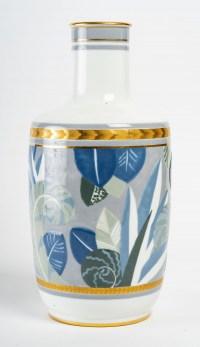 Vase en porcelaine de Sèvres, art déco