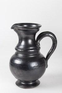 Ensemble Pichet et Vase en céramique signés Jean MARAIS