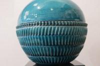 Jean Besnard ( 1889 - 1958) - Vase boule, céramique art déco