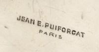 Centre de table en argent par JEAN E. PUIFORCAT
