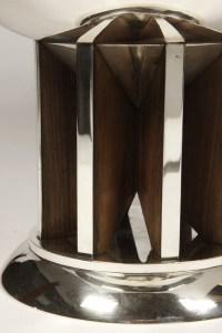 Silver centerpiece by  JEAN E. PUIFORCAT