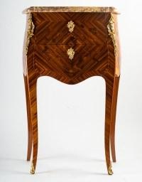 Paire de chevets de style Louis XV.