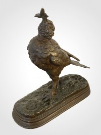 L'oiseau à L'abeille Par Jules Moigniez (1835-1894)