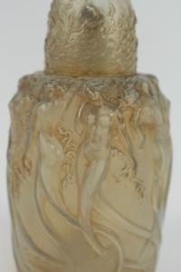 "R. LALIQUE (1860-1945). Brûle-parfum ""Sirènes ""  Burn-perfume  "" Sirens"""