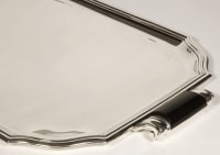 Art deco silver tray by LAPPARRA