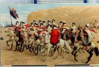 """Peinture sur toile """"Le panthéon de la guerre"""", Goumiers (1918). Ref: 3"""