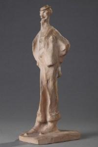 L'Homme Au Monocle - Bernhard Hoetger (1874-1949)
