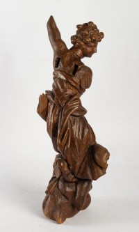 Sculpture en bois du XIXème siècle