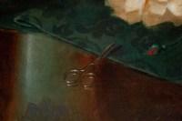 Maurice Isabelle Sprenger-Sébilleau (1849 - 1907): Jetée de fleurs avec chats.