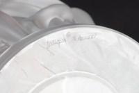 Vase « Bacchantes » cristal incolore de LALIQUE FRANCE d'après un modèle de René LALIQUE