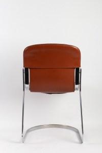 Suite de quatre chaises par Willy RIZZO pour Cidue , années 1970