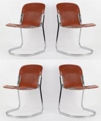 Suite de 4 chaises de Willy RIZZO