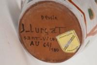 Jean Lurçat ( 1892 - 1966 ) - petit pichet en faïence, céramique année 50.