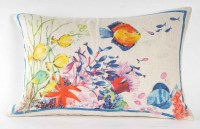"""1 coussin """" Corail """""""