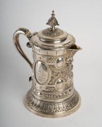 Grande chope, 1911, WMF, Bronze argenté.