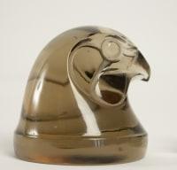 """René lalique Topaze """" Tête d Epervier"""" 1928"""