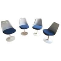 Eero Saarinen & Knoll, 4 chaises tulipe