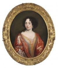 Elisabeth de Thomassin – Attribué à Henri Gascard (1635 – 1701)