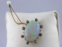 Broche Opale