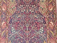 Tapis Kirman Laver Laine Kork Iran Vers 1870