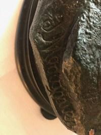 """Bronze """" Le héron"""", signé Moigniez. Ref: 383."""
