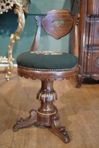 Chaise de musicien d'époque Charles X