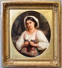 Louis Faivre-Duffer (1818-1897) - Portrait de femme