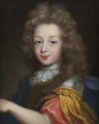 Portrait présumé du Duc de Maine vers 1680 – Attribué à Pierre Mignard (1610 – 1695)