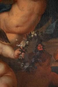 Painting, Oil On Canvas, Flemish, 17th Century, Representative Three Loves.