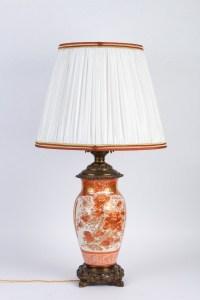 Lampe Corail Japon XIXème
