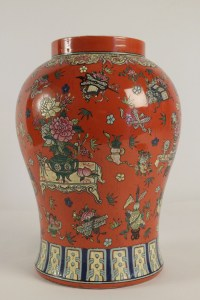 Chinese Vase from the beginning of the 20th Century.