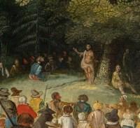 David Vinckboons. La prédication de Saint Jean-Baptiste