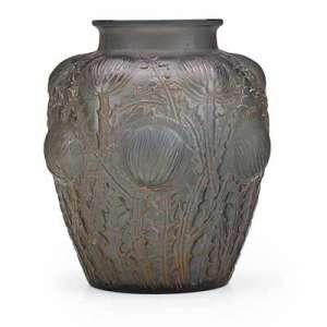 "RENÉ LALIQUE (1860 - 1945) Vase ""Domrémy"","