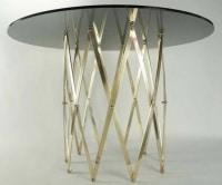 Table ou grand guéridon Maison Honoré 1960.