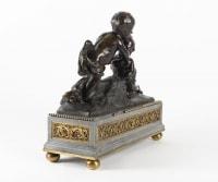 Sculpture en bronze du XVIIIe siècle époque Louis XVI