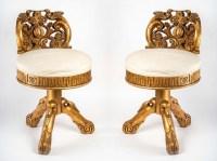 2 chaises de musiciens, XXème