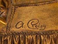 """""""The Nest"""", signed A. Croisy, Chryséléphantine"""