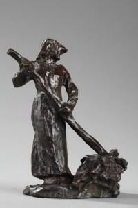Ramasseuse de Foin - Aimé-jules DALOU (1838-1902)