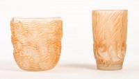 Vase « Dauphins » verre  René Lalique