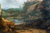 Richard Wilson 1714-1782. Paysages aux chutes d'eau.