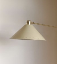 1950s Articulated Wall Light by Lunel