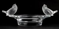 """Coupe """"Deux moineaux moqueurs"""" R. Lalique"""