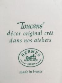 """HERMES Paris Service """"TOUCAN"""" 67 pièces"""