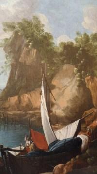 Peinture sur toile, marine, attribuée à Andrien Van Der Cabel. Réf: Charles 07.